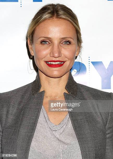 Cameron Diaz attends Cameron Diaz in Conversation with Rachael Ray at 92nd Street Y on April 5 2016 in New York City