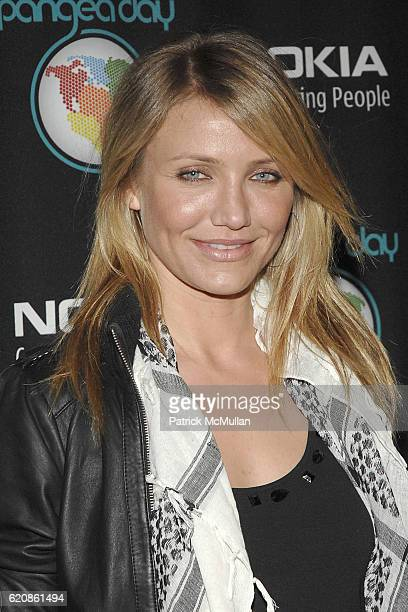 Cameron Diaz attends Pangea Day at Sony Studios at Sony Studios on May 10 2008 in Culver City CA