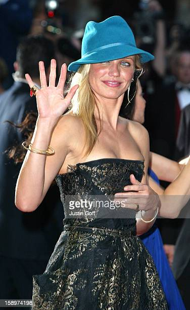 Cameron Diaz Attends The 'Charlie'S Angels 2 Full Throttle' Premiere In London'S Leicester Square