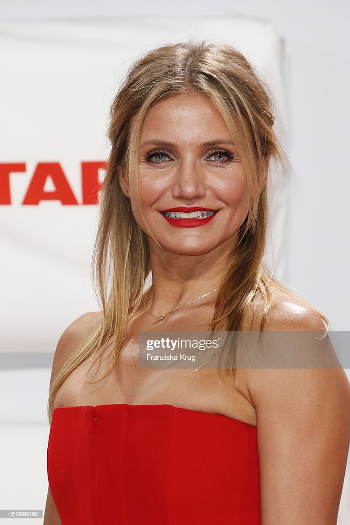 Cameron Diaz attends the German premiere of the film 'Sex Tape' at CineStar on September 5, 2014 in Berlin, Germany.