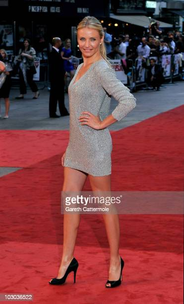 Cameron Diaz attends the UK Film Premiere of 'Knight And Day' at Odeon Leicester Square on July 22 2010 in London England