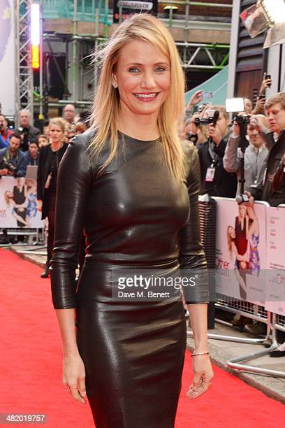 Cameron Diaz attends the UK Gala Premiere of 'The Other Woman' at The Curzon Mayfair on April 2 2014 in London England