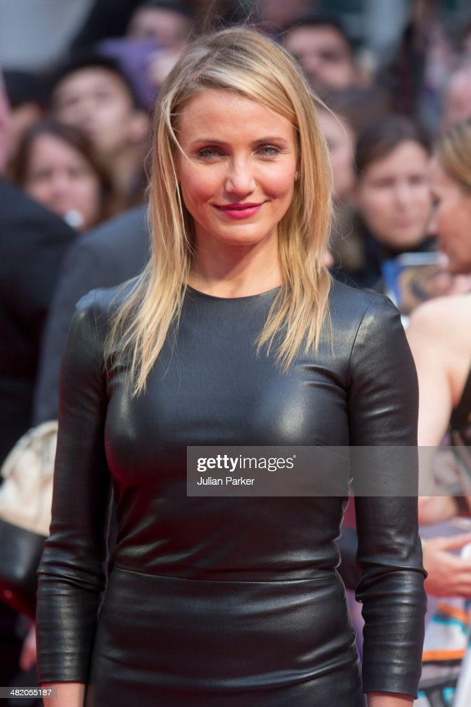 Cameron Diaz attends the UK Gala premiere of 'The Other Woman' at The Curzon Mayfair on April 2, 2014 in London, England.