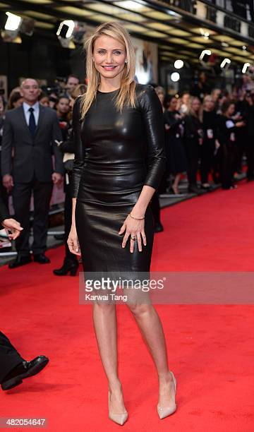 """Cameron Diaz attends the UK Gala premiere of """"The Other Woman"""" held at The Curzon Mayfair on April 2, 2014 in London, England."""