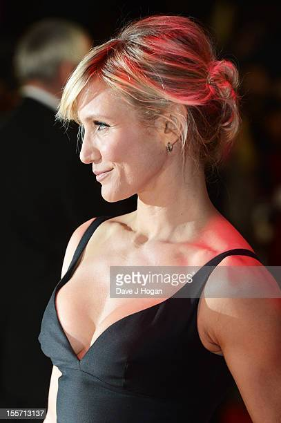 Cameron Diaz attends the UK premiere of Gambit at The Empire Leicester Square on November 7 2012 in London England