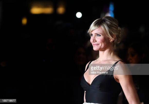 Cameron Diaz attends the World Premiere of Gambit at Empire Leicester Square on November 7, 2012 in London, England.