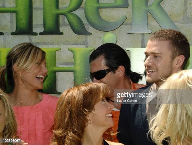 Cameron Diaz Cheri Oteri Antonio Banderas and Justin Timberlake
