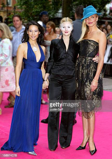 Cameron Diaz Drew Barrymore Lucy Liu Attend The 'Charlie'S Angels 2 Full Throttle' Premiere In London'S Leicester Square