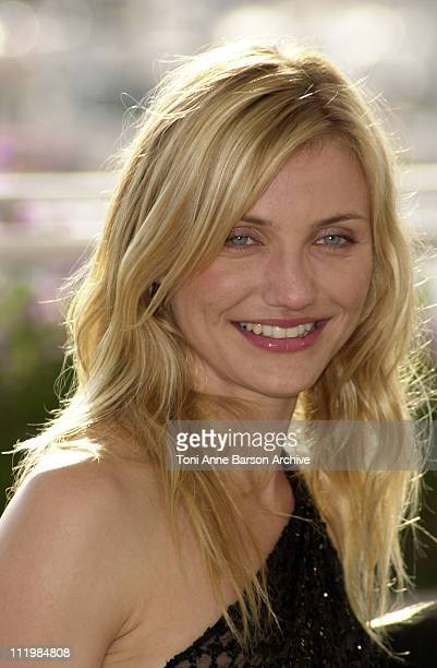 """Cameron Diaz during Cannes 2002 - """"Gangs of New York"""" Photo Call at Palais des Festivals in Cannes, France."""