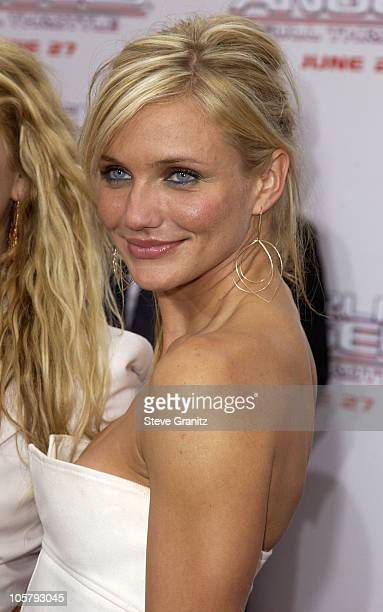 Cameron Diaz during 'Charlie's Angels 2 Full Throttle' Premiere at Mann's Chinese Theater in Hollywood California United States