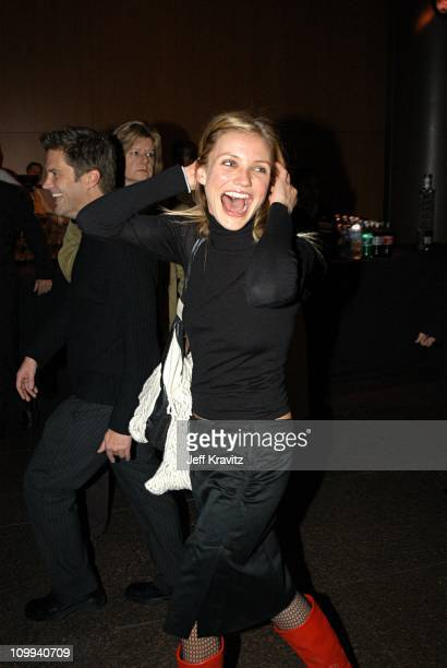 Cameron Diaz during Miramax Films Gangs of New York at Directors Guild of America Theater in Hollywood CA United States