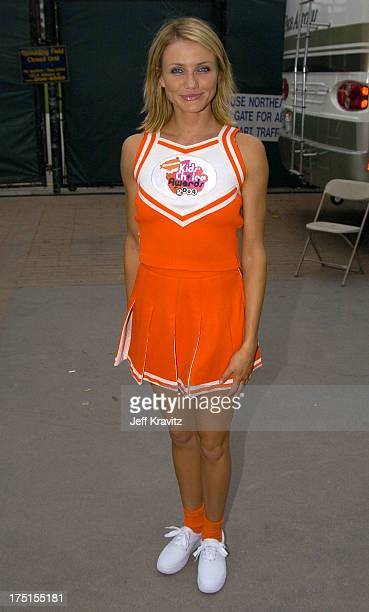 Cameron Diaz during Nickelodeon's 17th Annual Kids' Choice Awards Backstage at Pauley Pavillion in Westwood California United States
