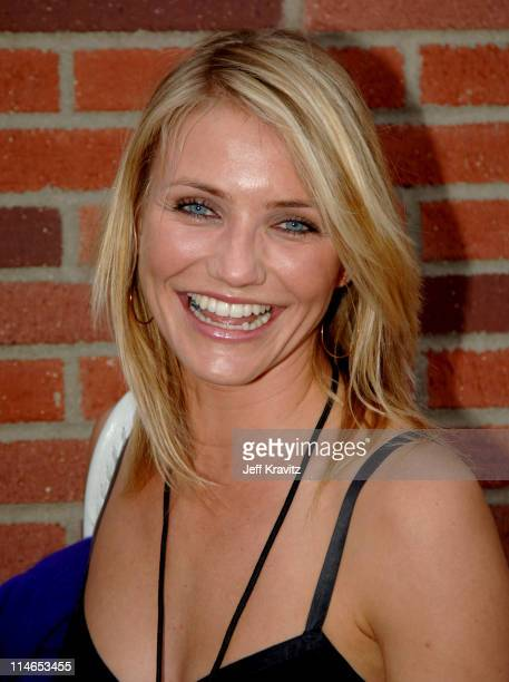 Cameron Diaz during Nickelodeon's 18th Annual Kids Choice Awards Orange Carpet at Pauley Pavilion in Los Angeles California United States
