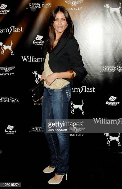 """Cameron Diaz during William Rast Presents """"Street Sexy"""" Spring Summer 07 - Arrivals at Social Hollywood in Los Angeles, California, United States."""