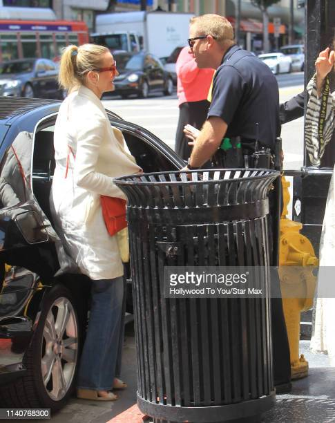 Cameron Diaz is seen on May 1, 2019 in Los Angeles, California.