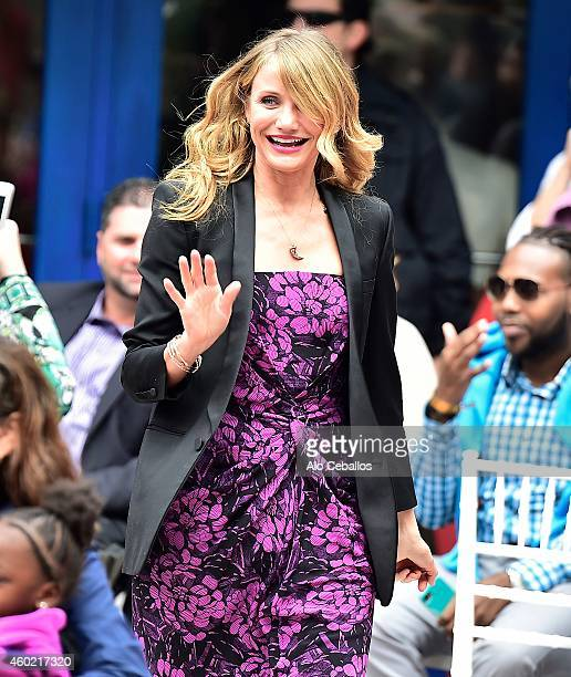 Cameron Diaz is sighted on December 9 2014 in Miami Florida
