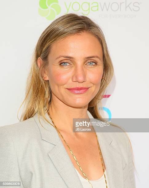 Cameron Diaz joins MPTF to celebrate Health and Fitness at The Wasserman Campus on June 10 2016 in Woodland Hills California
