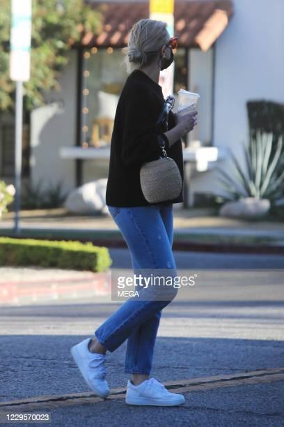 Cameron Diaz seen on November 10, 2020 in West Hollywood, California.