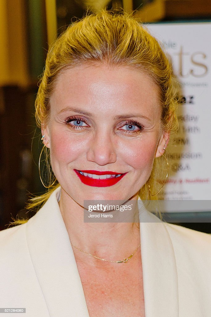 "Cameron Diaz Book Signing For ""The Longevity Book: The Science Of Aging, The Biology Of Strength, And The Privilege Of Time"""