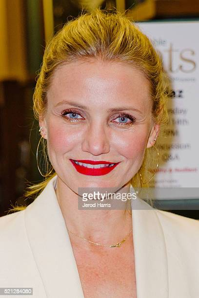 Cameron Diaz signs copies of her book 'The Longevity Book The Science Of Aging The Biology Of Strength And The Privilege Of Time' at Barnes Noble on...