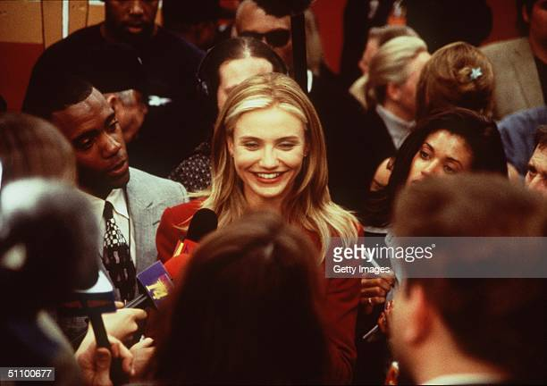 Cameron Diaz Stars In The Movie 'Any Given Sunday'