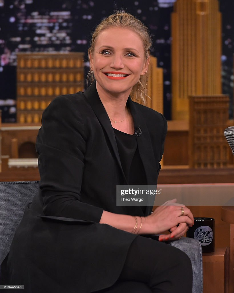 "Cameron Diaz Visits ""The Tonight Show Starring Jimmy Fallon"""