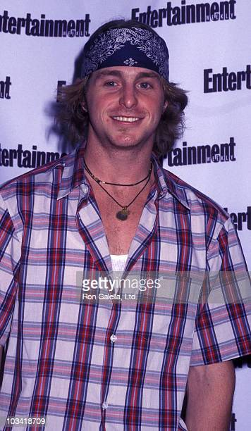 Cameron Douglas attends First Annual Entertainment Weekly It List Party on June 24, 2002 at Milk Studios in New York City.