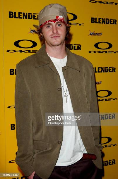 Cameron Douglas during Blender/Oakley X Games Party - Arrivals at The Key Club in Los Angeles, California, United States.