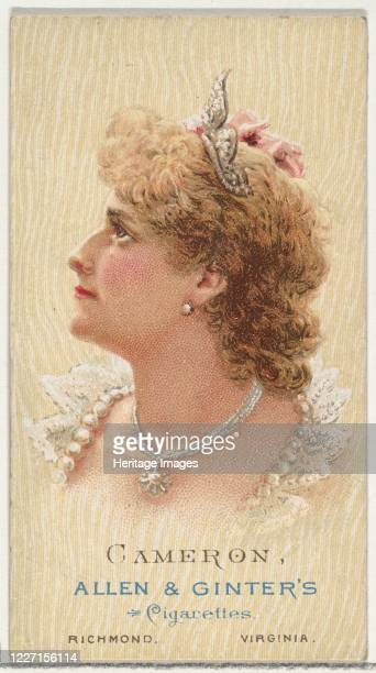 Cameron from World's Beauties Series 2 for Allen Ginter Cigarettes 1888 Violet Lydia Thompson known professionally as Violet Cameron was an English...