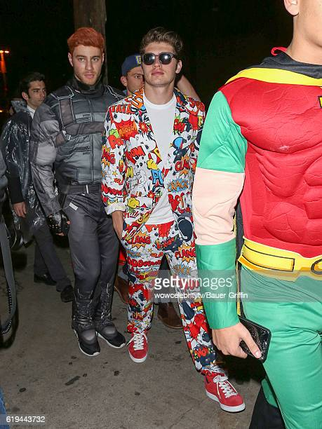 Cameron Fuller and Gregg Sulkin are seen on October 30 2016 in Los Angeles California