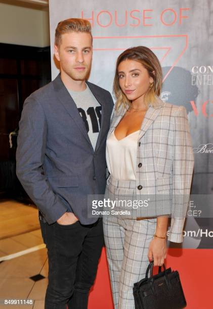 Cameron Fuller and Lauren Elizabeth at Brooks Brothers and Vogue with Lisa Love And Zac Posen Host A Special Screening Event For 'House of Z' The Zac...