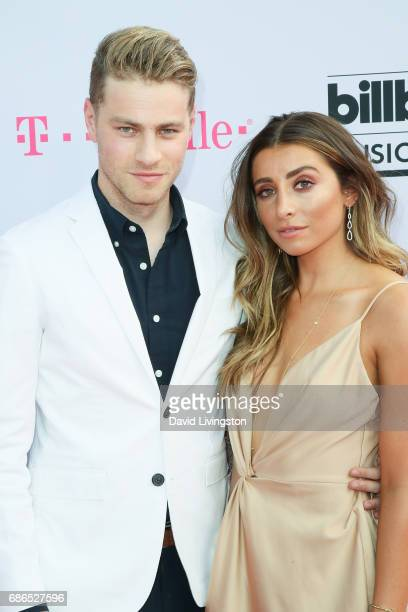 Cameron Fuller and Lauren Elizabeth attend the 2017 Billboard Music Awards at the TMobile Arena on May 21 2017 in Las Vegas Nevada