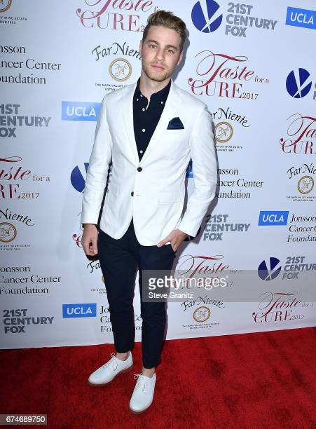 Cameron Fuller arrives at the UCLA's Johnsson Center Hosts 22nd Annual Taste For A Cure Event Honoring Yael And Scooter Braun at the Beverly Wilshire...