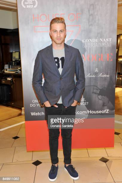 Cameron Fuller at Brooks Brothers and Vogue with Lisa Love And Zac Posen Host A Special Screening Event For House of Z The Zac Posen Documentary on...
