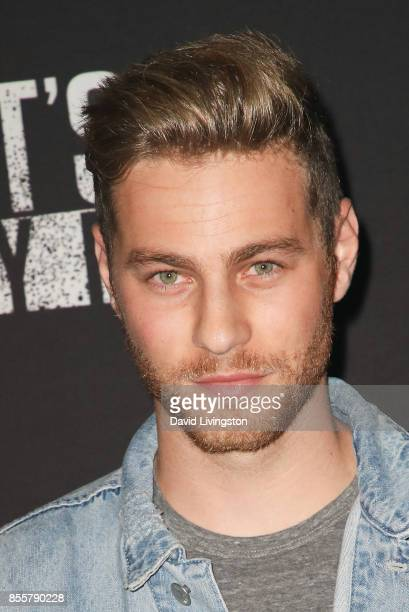 Cameron Fuller attends the Knott's Scary Farm and Instagram's Celebrity Night at Knott's Berry Farm on September 29 2017 in Buena Park California