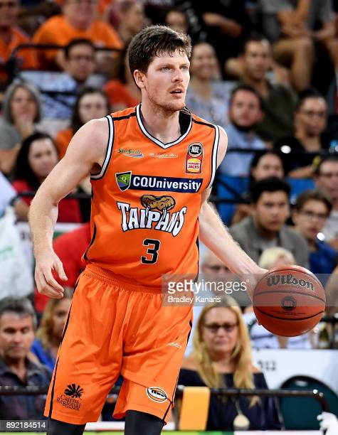 Cameron Gliddon of the Taipans during the round 10 NBL match between the Cairns Taipans and the Brisbane Bullets at Cairns Convention Centre on...