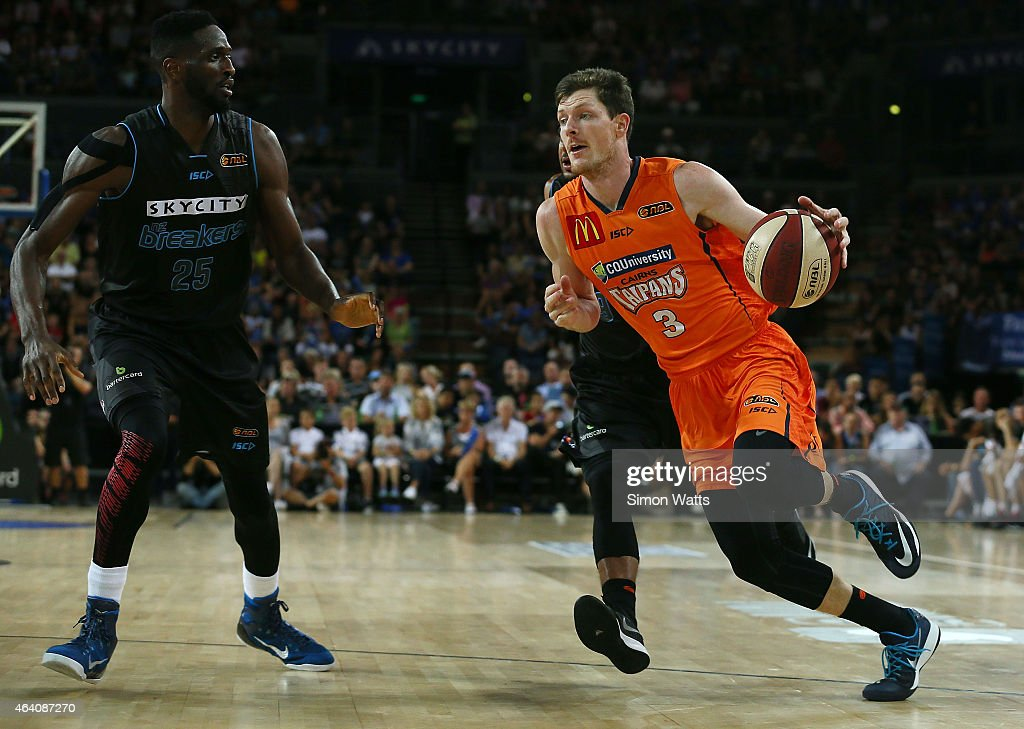 NBL Rd 22 - New Zealand v Cairns : News Photo