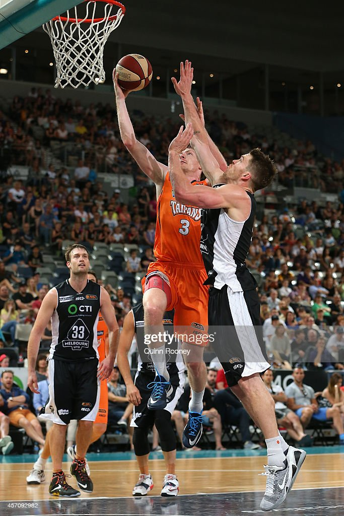 NBL Rd 1 - Melbourne v Cairns : News Photo
