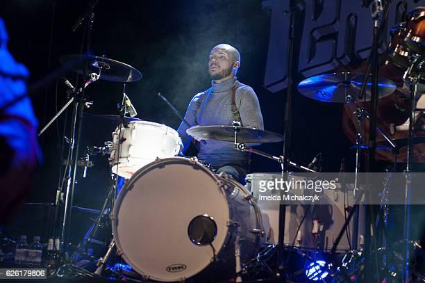 Cameron Greenwood of Terrorvision performs at KOKO on November 27 2016 in London England