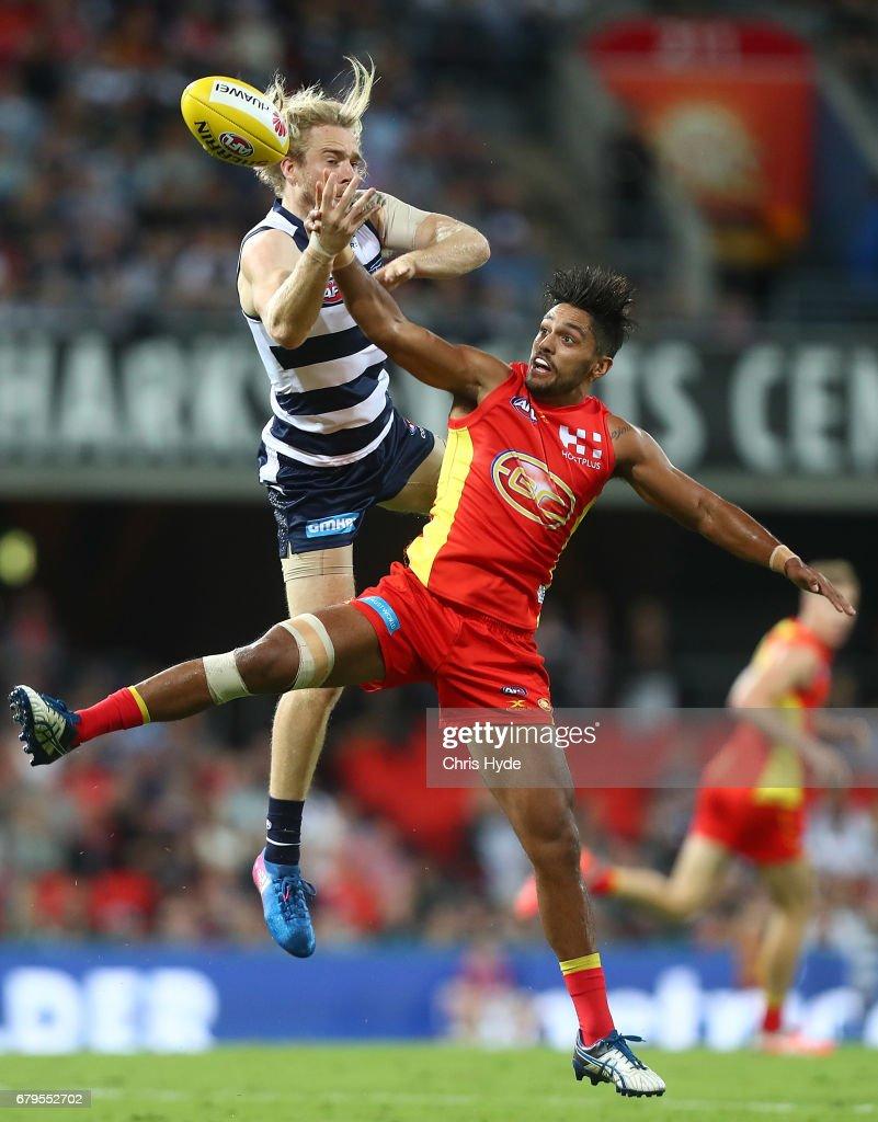 AFL Rd 7 - Gold Coast v Geelong