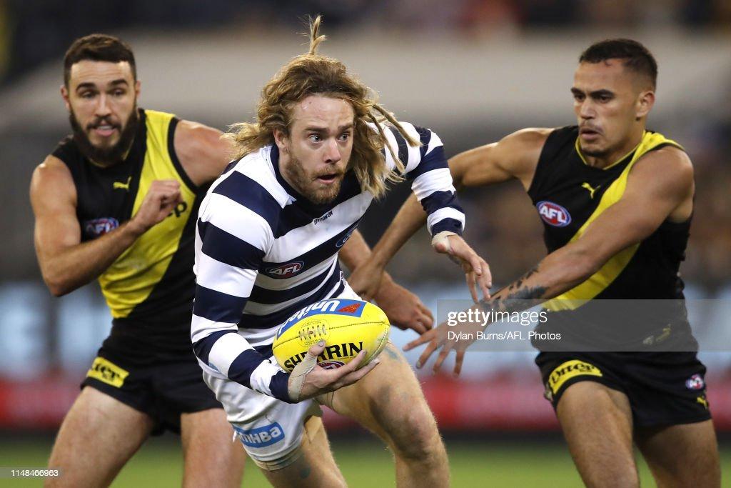 AFL Rd 12 - Richmond v Geelong : News Photo