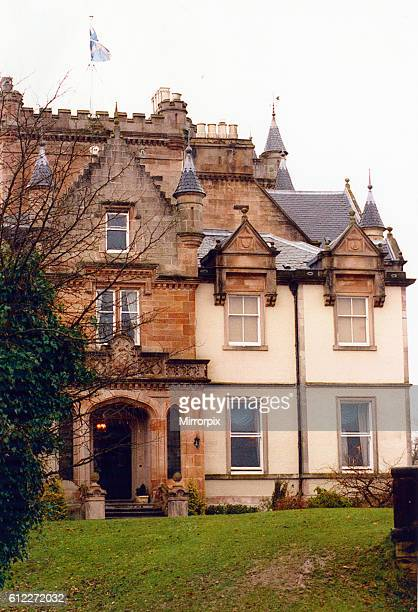 Cameron House Hotel Loch Lomond Alexandria Dunbartonshire Scotland 15th March 1995 Where musician Prince is staying during his concert tour in...
