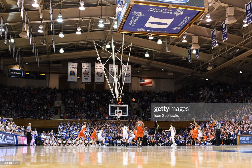 College Basketball Feb 24 Syracuse At Duke Pictures Getty Images