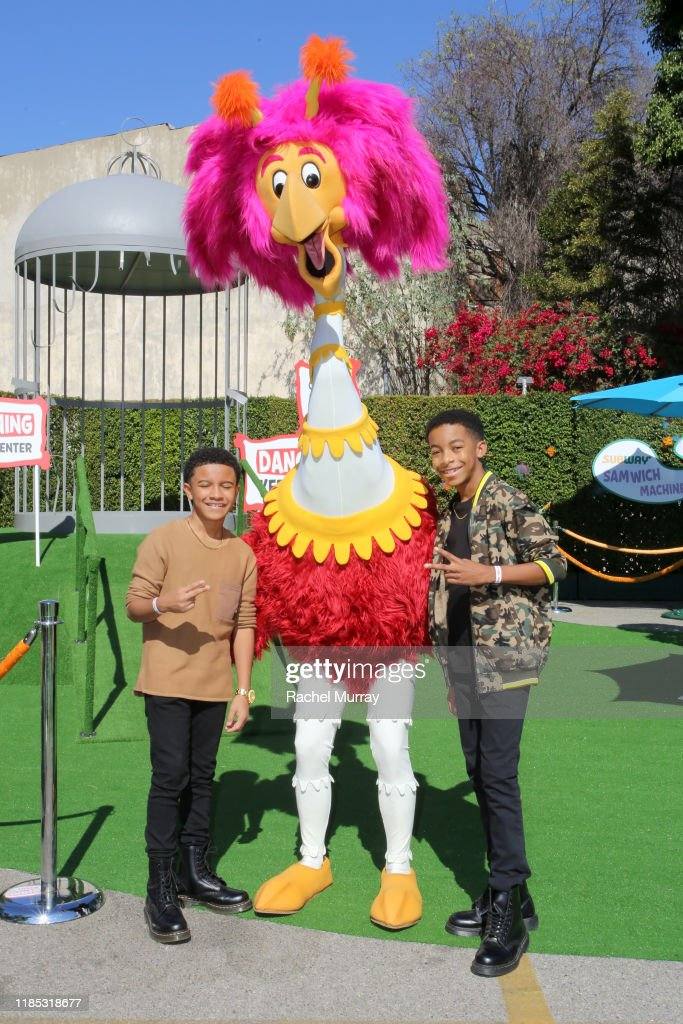 Cameron J Wright And Isaiah Russell Bailey Attends Netflix Green News Photo Getty Images