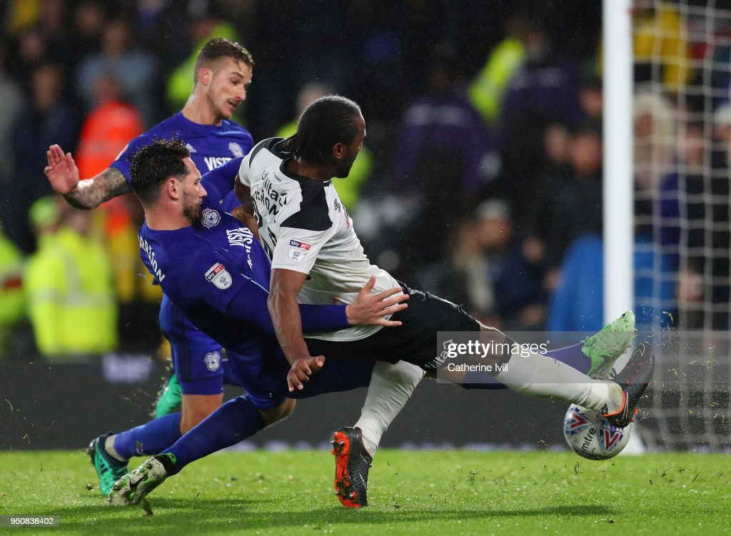 Derby County v Cardiff City - Sky Bet Championship : News Photo