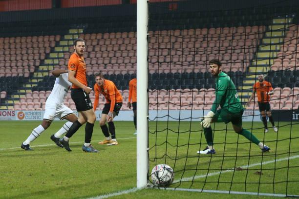 GBR: Barnet v Milton Keynes Dons - FA Cup Second Round