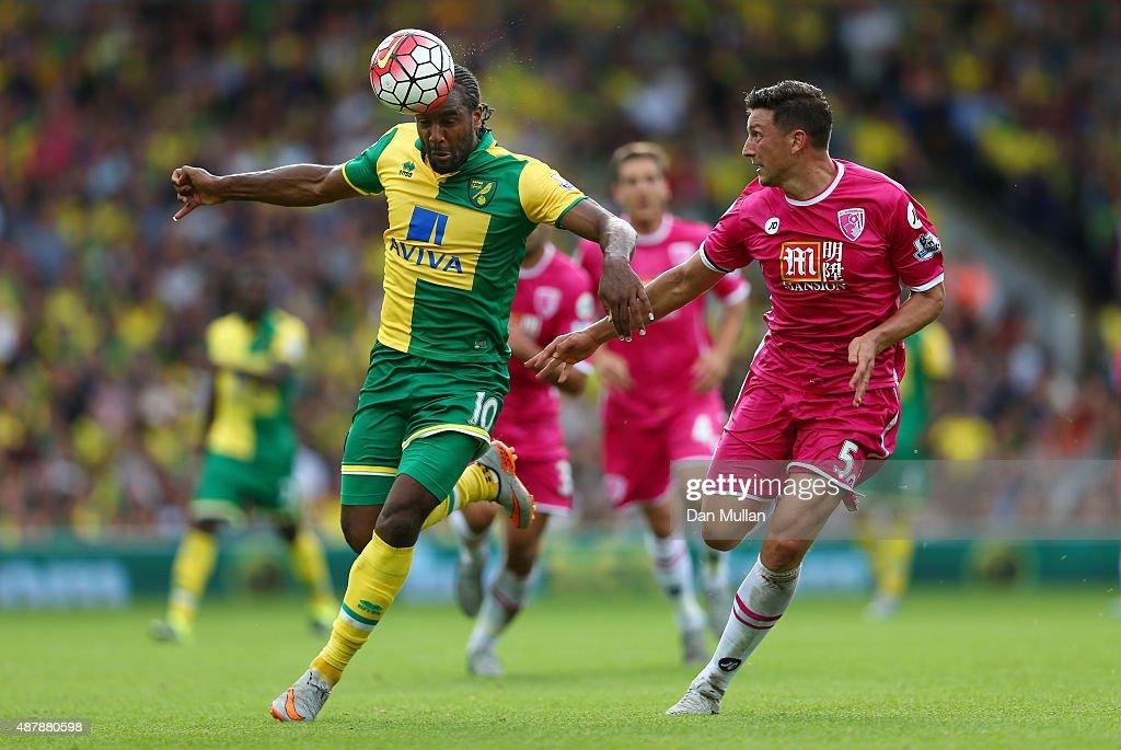 Norwich City v A.F.C. Bournemouth - Premier League : News Photo
