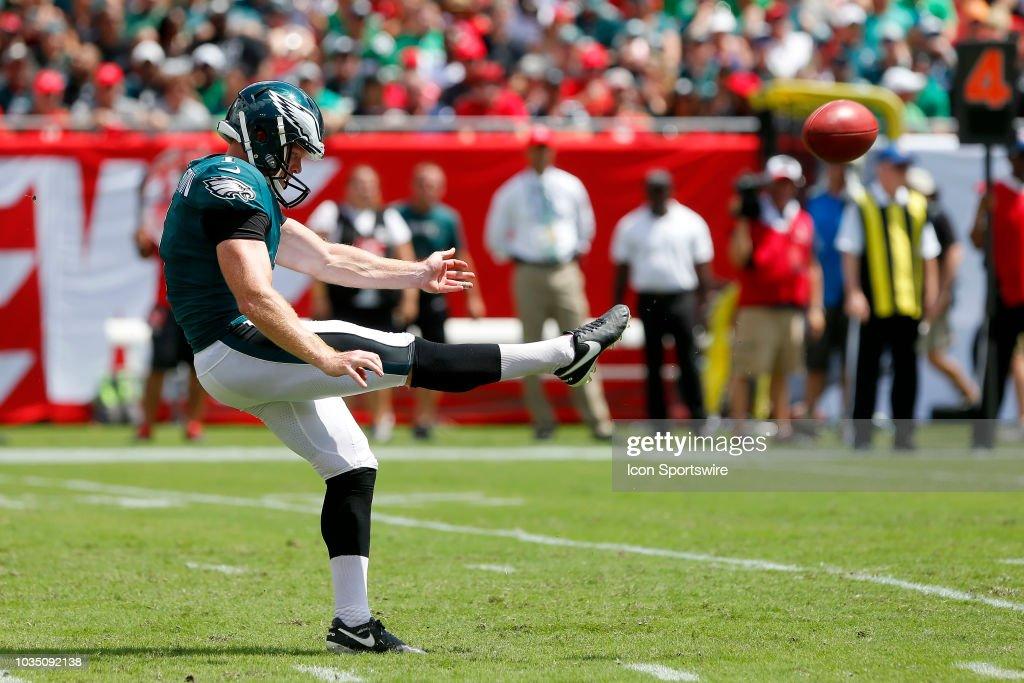 NFL: SEP 16 Eagles at Buccaneers : News Photo