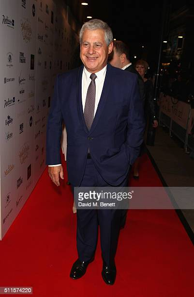 Cameron Mackintosh attends the 16th Annual WhatsOnStage Awards at The Prince of Wales Theatre on February 21 2016 in London England