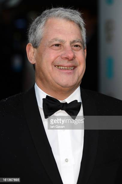 Cameron Mackintosh attends the EE British Academy Film Awards at The Royal Opera House on February 10 2013 in London England